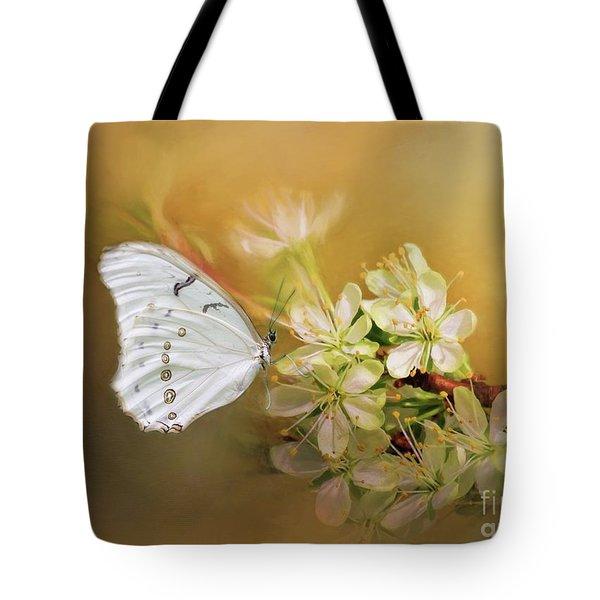 Morpho Luna  Tote Bag by Eva Lechner
