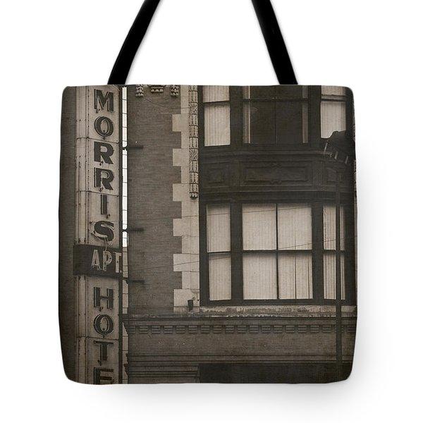 Morris Hotel Tote Bag