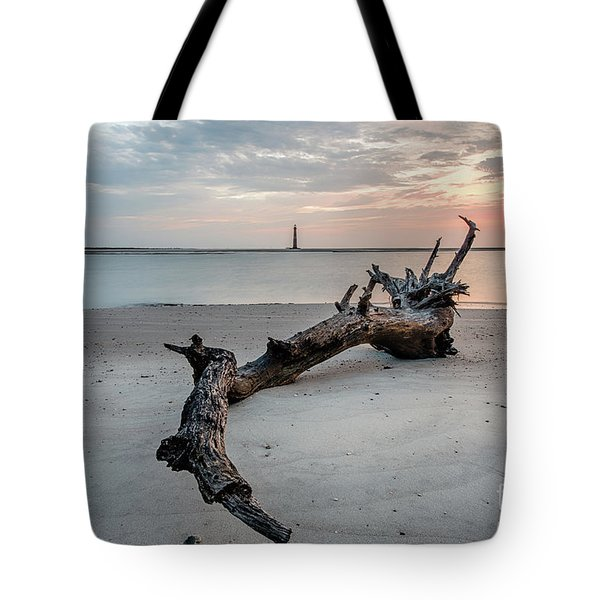 Morris Island Tote Bag by Robert Loe