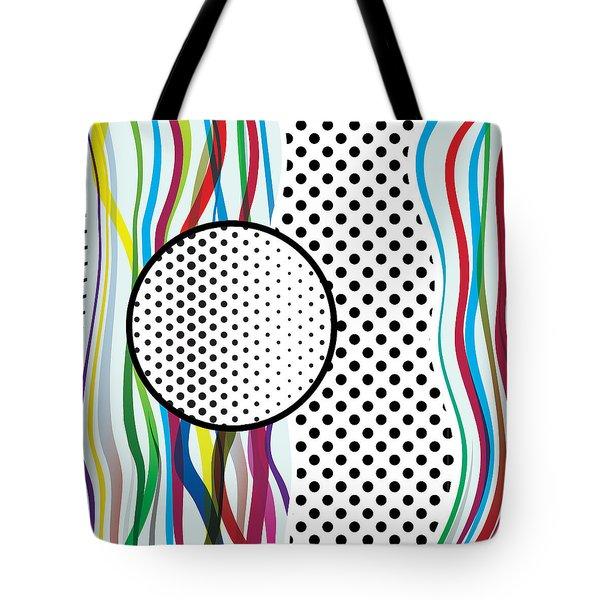 Morris Pop-art Tote Bag
