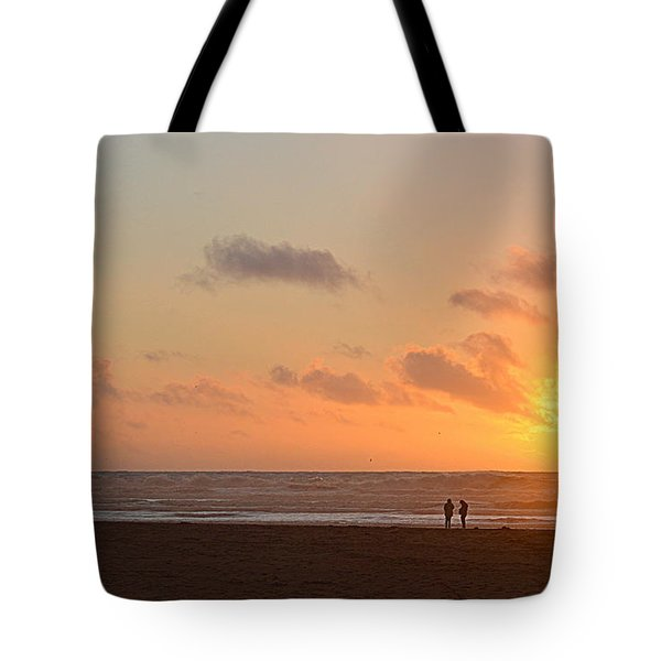 Morro Sunset Tote Bag