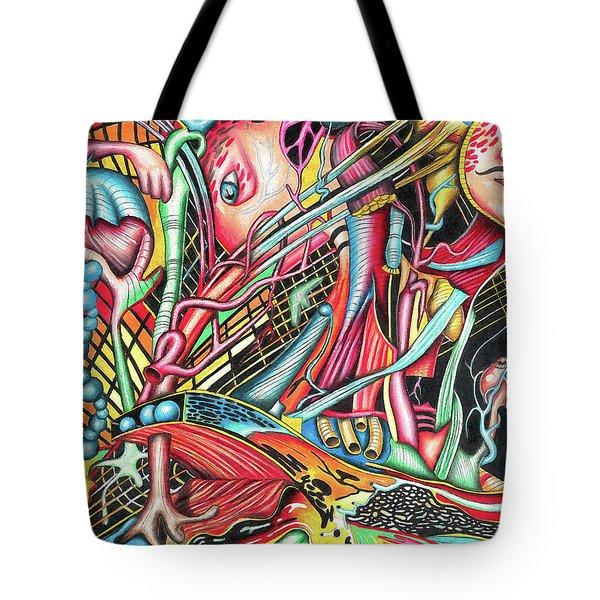 Mortal Fiber Tote Bag