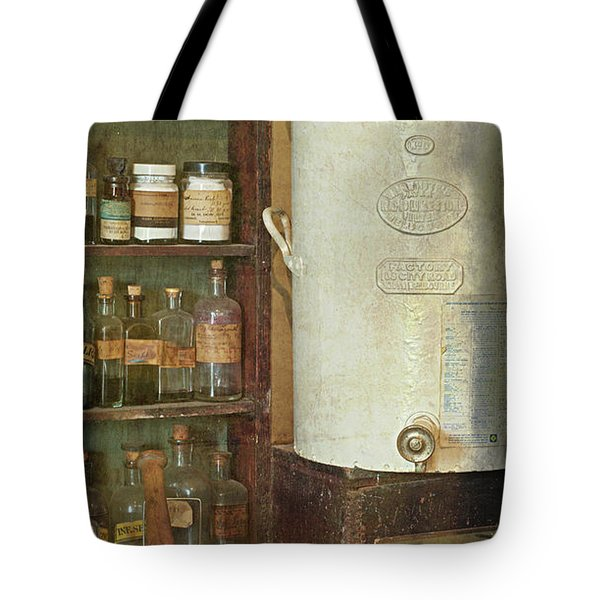 Mortar And Pestle Tote Bag