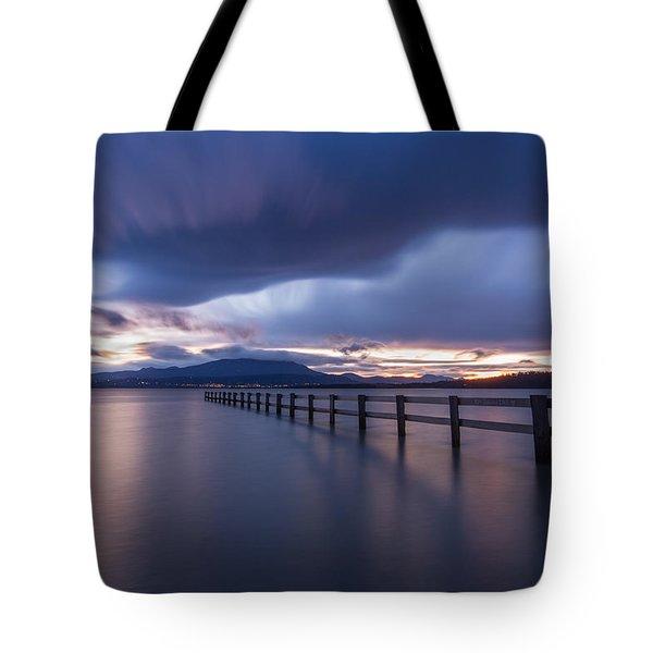 Mortimer Bay Tote Bag