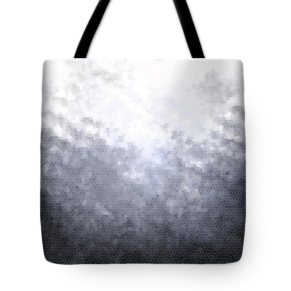 Mosaic Ombre Tote Bag