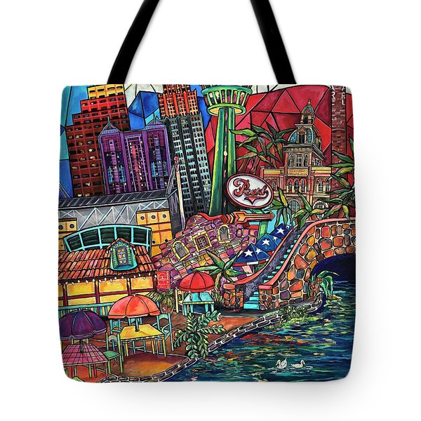 Mosaic River Tote Bag