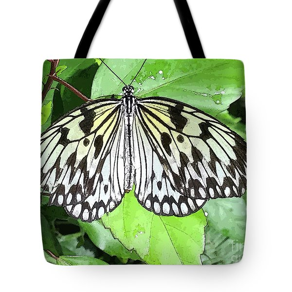Mosaic Wing Spread Tote Bag