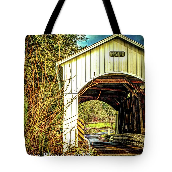 Mosby Creek Bridge Tote Bag