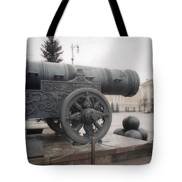 Moscow Cannon Relic Tote Bag