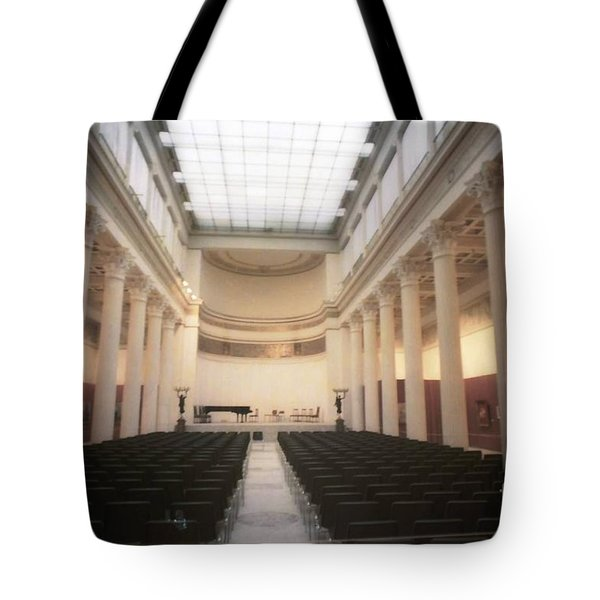 Moscow Consert Hall Tote Bag