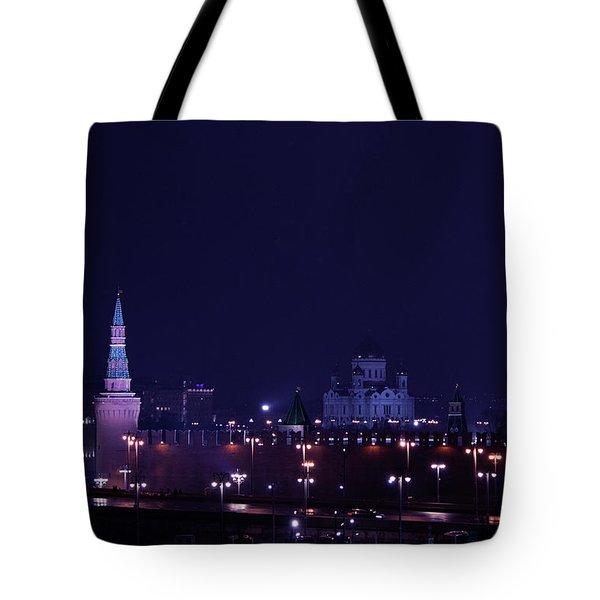 Moscow Kremlin Tote Bag