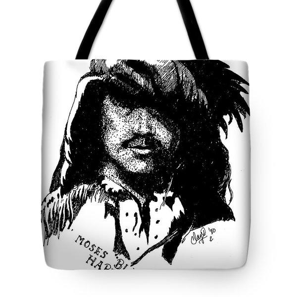 Moses Black Harris Tote Bag