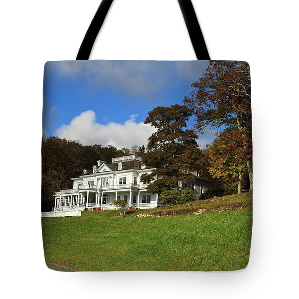 Moses Cone Flat Top Manor Tote Bag