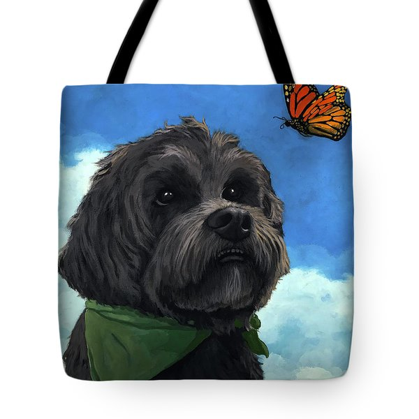 Moses - Pet Portrait Tote Bag