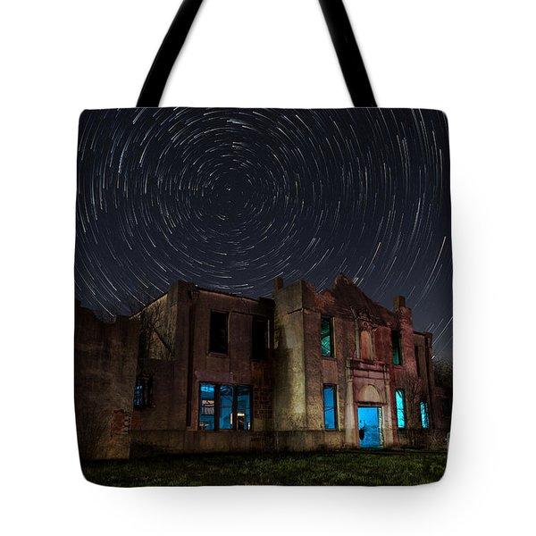 Mosheim Texas Schoolhouse Tote Bag
