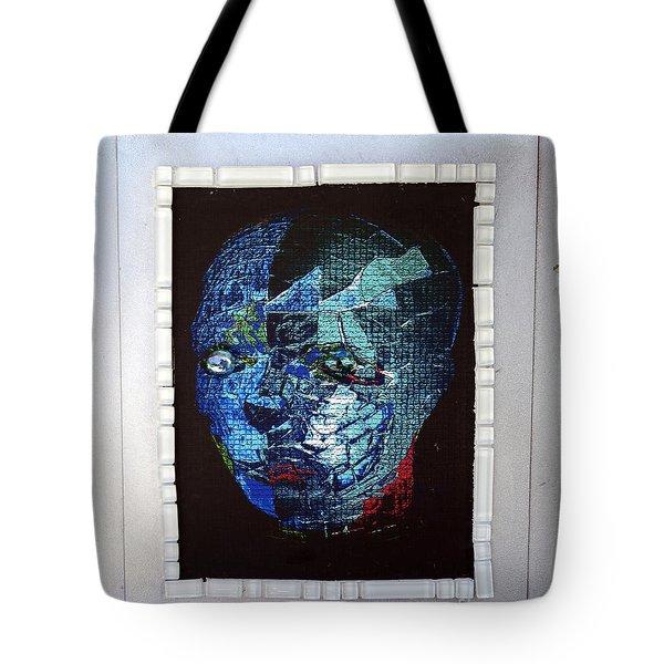 Mosiac Man Tote Bag