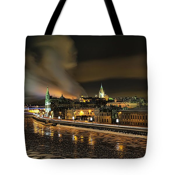 Moscow River Tote Bag