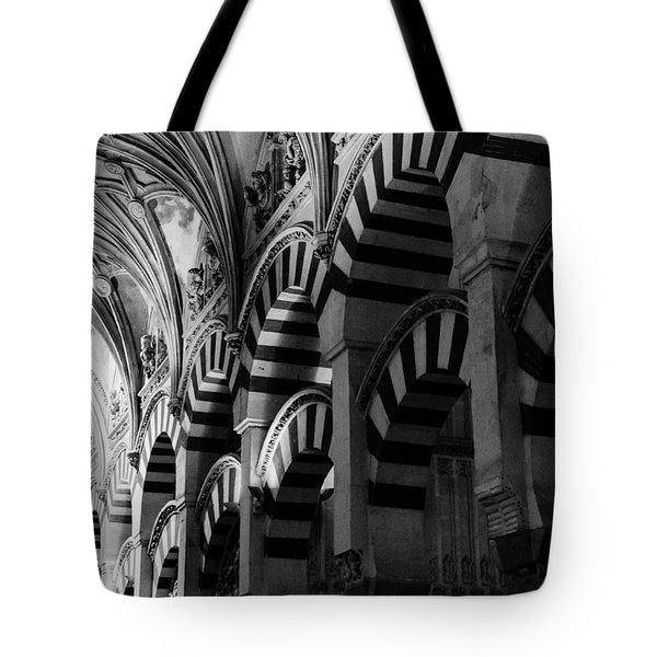 Mosque Cathedral Of Cordoba 6 Tote Bag by Andrea Mazzocchetti