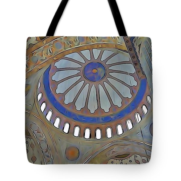Mosque Dome Tote Bag