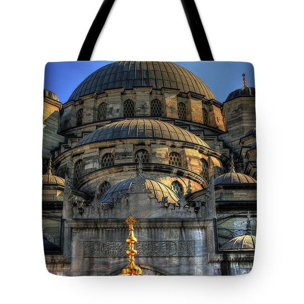 Tote Bag featuring the photograph Mosque by Tom Prendergast