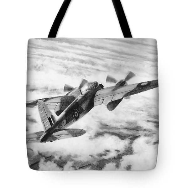 Mosquito Fighter Bomber Tote Bag