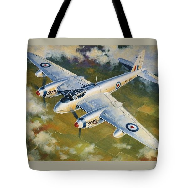 'mosquito Survey Flight' Tote Bag