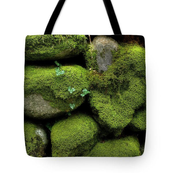 Tote Bag featuring the photograph Moss And Ivy by Mike Eingle