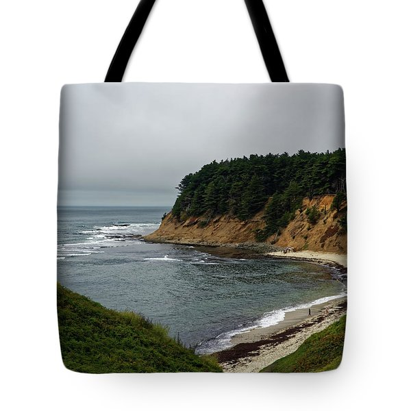 Moss Beach Tote Bag