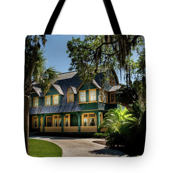 Moss Cottage Tote Bag
