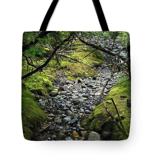 Moss Stream Tote Bag