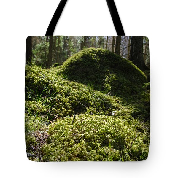 Tote Bag featuring the photograph Mossy Ground Level by Kennerth and Birgitta Kullman