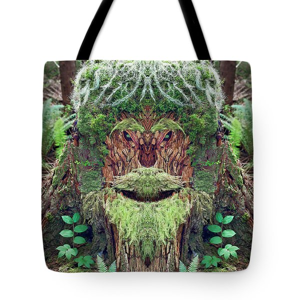 Mossman Tree Stump Tote Bag