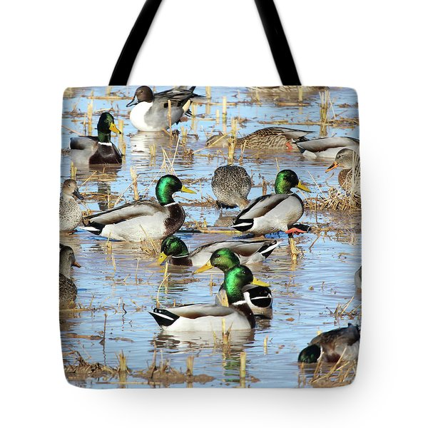 Mostly Mallards Tote Bag