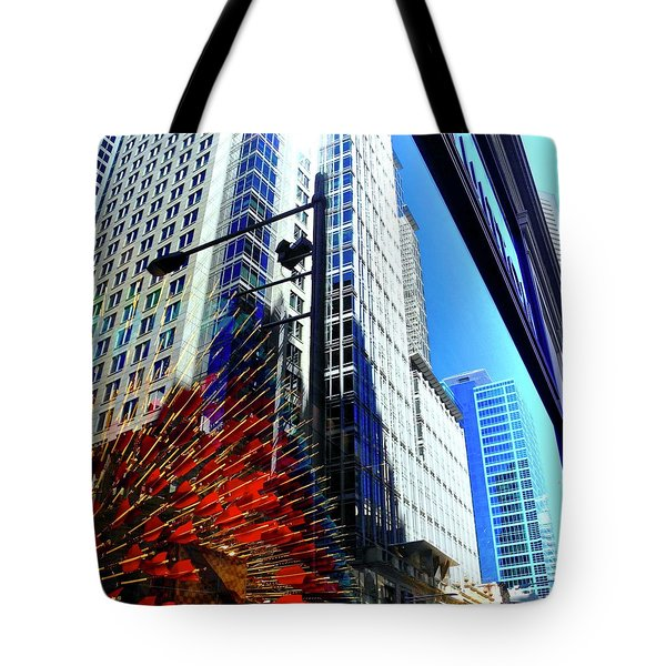 Mostly Reflections In Sydney Tote Bag by Kirsten Giving