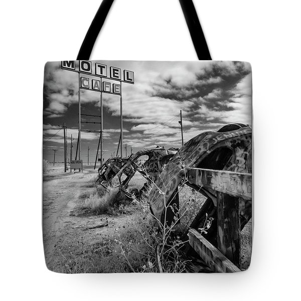 Motel Cafe Northern Texas  Tote Bag