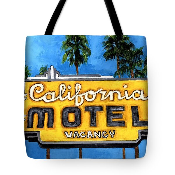 Motel California Tote Bag