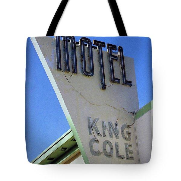 Motel King Cole Tote Bag