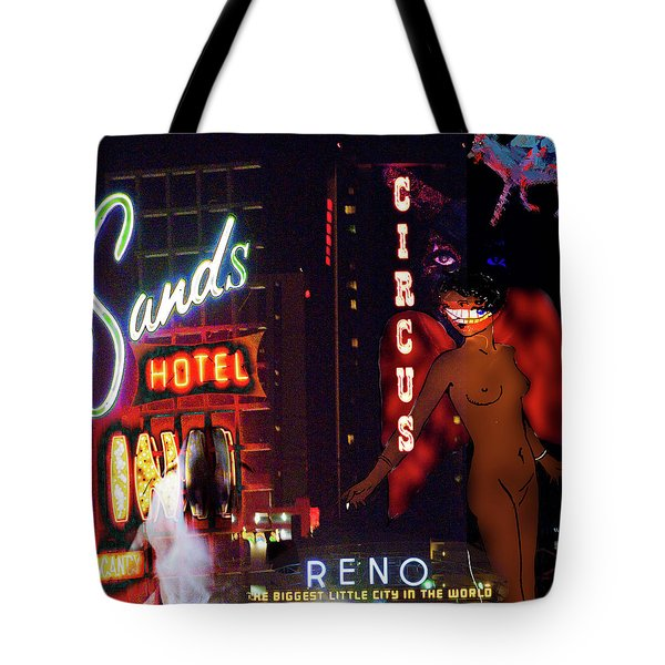 Motel Variations Angels Tote Bag by Ann Tracy