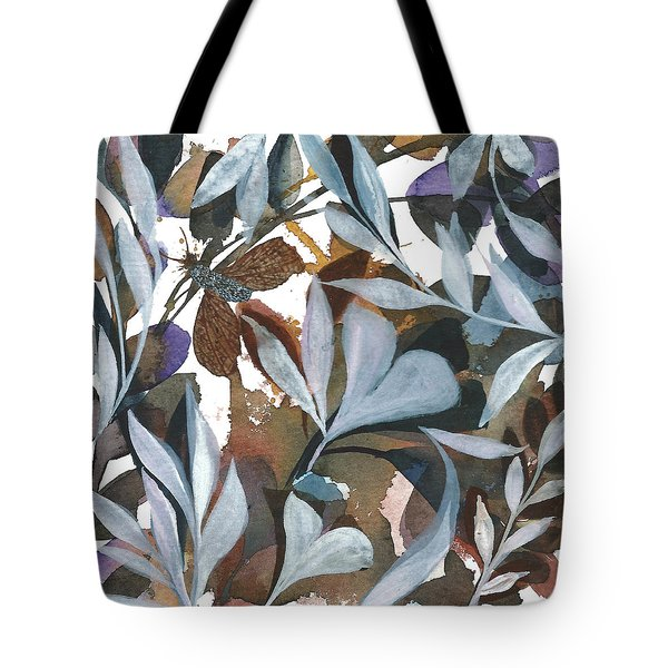 Moth Got Caught Tote Bag by Garima Srivastava