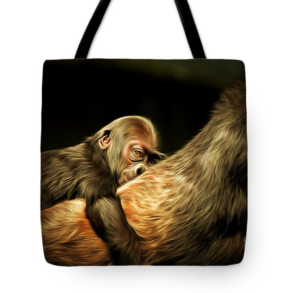 Mother And Child 20150210brun Tote Bag by Home Decor