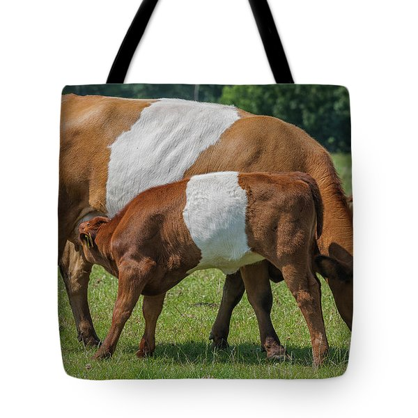 Tote Bag featuring the photograph Mother And Child by Patricia Hofmeester