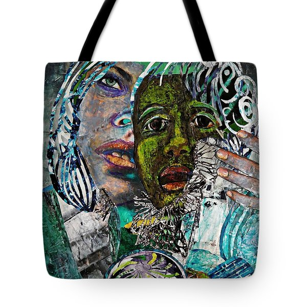 Mother And Child Tote Bag by Sarah Loft