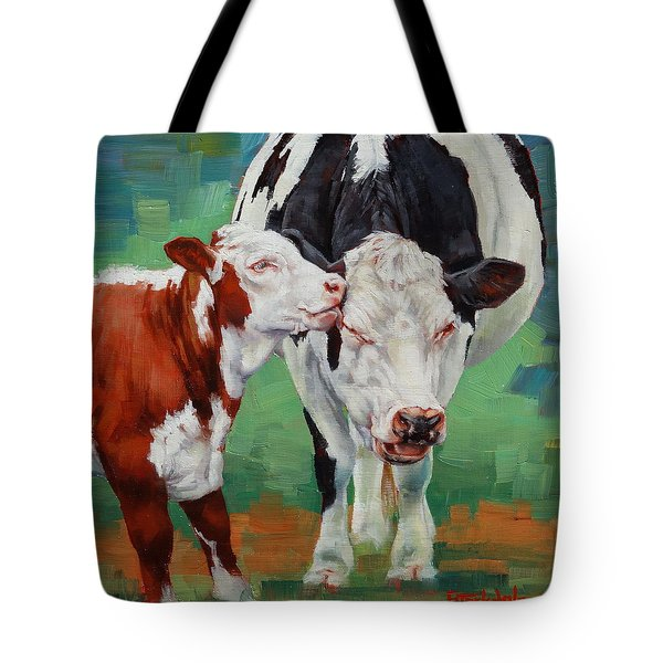 Mother And Son Tote Bag by Margaret Stockdale