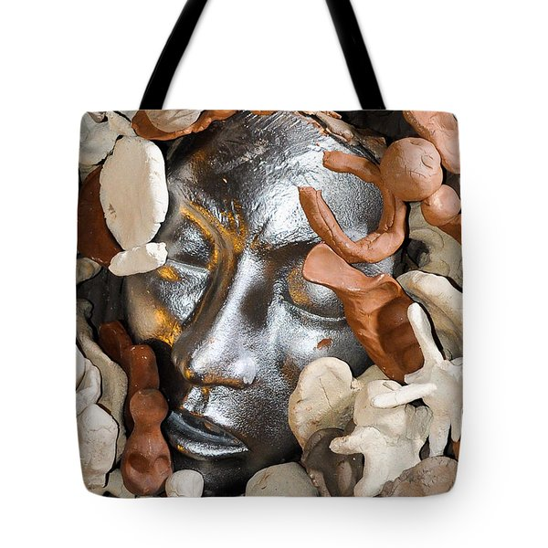 Mother Earth Altar Tote Bag by Kristen R Kennedy