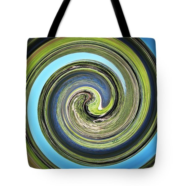 Mother Earth Tote Bag by Scott Haley