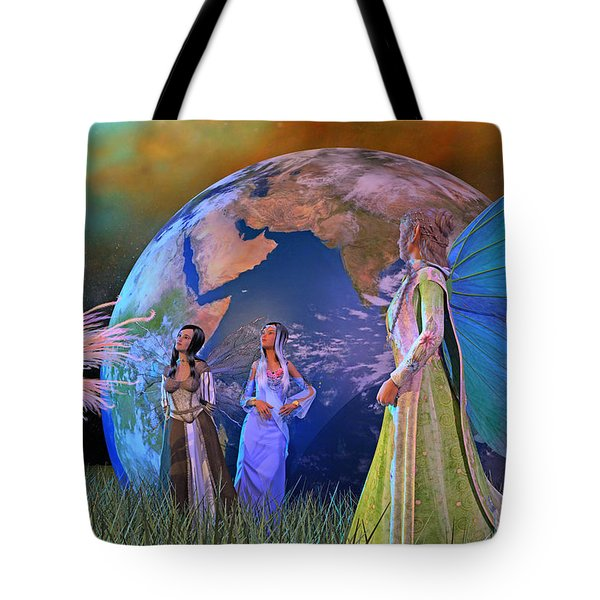 Mother Earth Series Plate5 Tote Bag