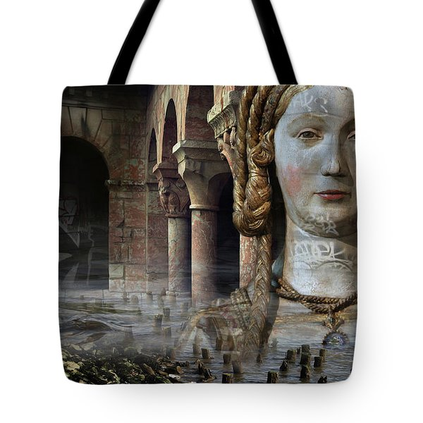 Mother Earth Tote Bag by Yvonne Wright