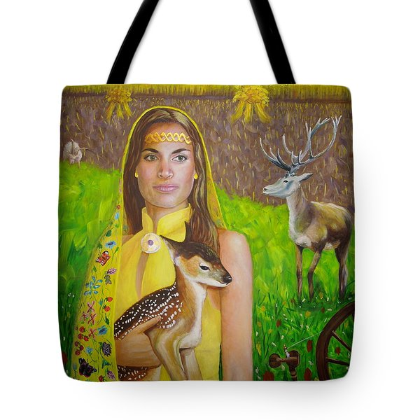 Mother Goddess Ker - Lammas Tote Bag