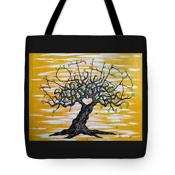 Mother Love Tree Tote Bag
