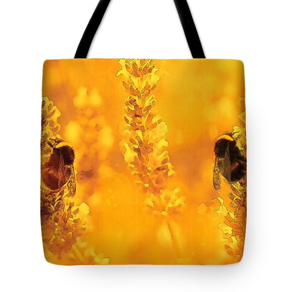 Tote Bag featuring the digital art Mother Nature At Work    by Fine Art By Andrew David
